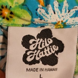 Hilo Hattie womens half shirt